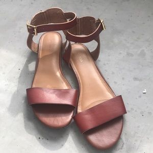 Express Ankle Strap Sandals Size 9